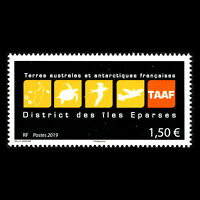 TAAF 2019 - Logos of French South and Antarctic Territory - MNH