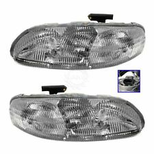 Headlights Headlamps Left & Right Pair Set NEW for Chevy Lumina Monte Carlo