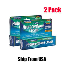 2 Natureplex 1% Hydrocortisone Cream Anti-Itch 1oz Maximum Strength - USA Seller