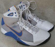 Nike Hyperdunk Mens Sneaker Size 11 Style 324820-147 Flywire Mets Colors