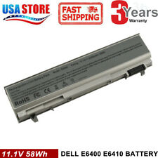 5200mAh Battery For Dell Latitude E6400 E6410 E6500 E6510 PT434 Laptop CL