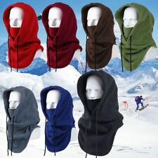 Outdoor Sports Neck Warm Helmet Face Hat Wind Fleece Balaclava Hood Ski Mask