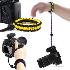 Apretón de la mano-hacer Trenzado Muñequera Brazalete Cámara Para DSLR Canon Niko Sony 2020