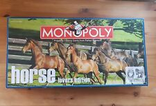 Monopoly Horse Lovers Edition Board Game Complete 2007 PARKER BROTHERS RARE