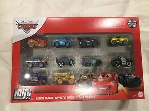 Disney Pixar Cars MINI RACERS 10 PACK GEORGE NEW WIN MISS FRITTER MCQUEEN