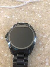 Michael Kors Access Bradshaw 44.5mm Stainless Steel Case Navy Link watch