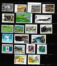 #3212=Canada used selection of different commemorative stamps