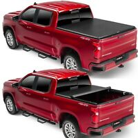 TruXedo TruXport Tonneau Roll Up Cover for Silverado Sierra 1500 2500 3500 8 Ft