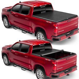 TruXedo TruXport Tonneau Roll Up Cover for Silverado Sierra 1500 2500 3500 8 Ft