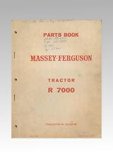 Massey Ferguson R7000 Schlepper Ersatzteilliste Original 1964