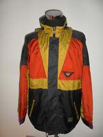 vintage JEANTEX Nylon Jacke Regenjacke 80er jahre glanz oldschool rain 50/52 L