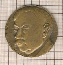 Medaille Par A.Rivaud Cnam Paul Painlevé 1863 1953 Mathematiker