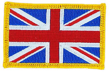 FLAG PATCH PATCHES United Kingdom UK BRITISH JACK  IRON ON EMBROIDERED SMALL