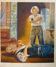 Titelbild Originalzeichnung Die Abenteurer Bastei Band 23 Gemälde Hasan Kocbay