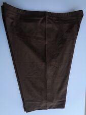 Zenana  Outfitters Premium Stretch Cotton Longer Length Bike Shorts 3X Brown