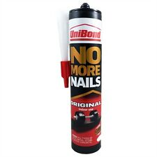 Unibond No More Nails Original Interior 300ml Mastic Gun Cartridge