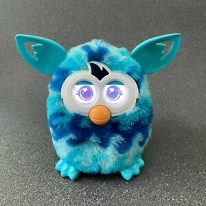 Furby Boom Blue Wave Electronic Talking Pet Interactive Toy Hasbro, Tested A4338
