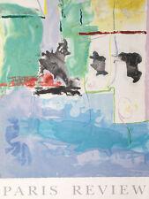 Paris Review (Westwind) by Helen Frankenthaler Art Print 1996 Serigraph