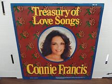Connie Francis Treasury of Love Songs SMI-1-50 33rpm 081116DBE