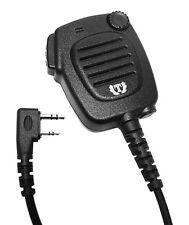 Kenwood 2 Pin WaterProof Speaker Microphone Mic for Tk2100 Tk3100 Bf-Uv5R Series