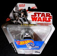 Hot Wheels Star Wars Battle Roller Emperor Palpatine Imperial Shuttle -