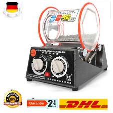 220V Poliertrommel Labor-Kugelmühle Elektrische Polierger Finisher Maschine DHL