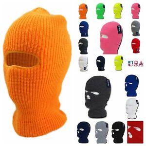 Men Women Ski Mask Beanie Cap Camping Snow Fishing Winter Sports Board Biker Hat