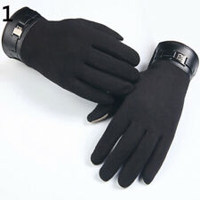 FP- KF_ Bike Gloves Winter Thermal Warm Full Finger Touch Screen Cycling Glove N