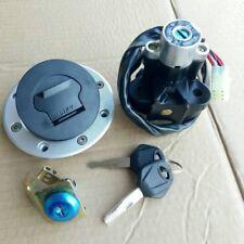 Ignition Switch Fuel Gas Cap Seat Lock Set for Suzuki GSXR 600 750 1000 2000-03