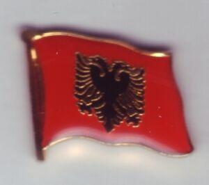 Albania Flag Pin, Badge, Flag, Pin, Albania, Shqiperise