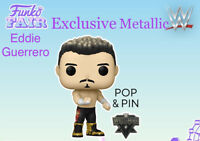 WWE Funko POP! Eddie Guerrero Metallic With Pin Funko Fair Exclusive PRESALE