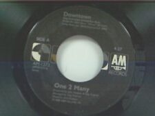 """ONE 2 MANY """"DOWNTOWN / WELCOME TO MY CITY"""" 45 MINT"""