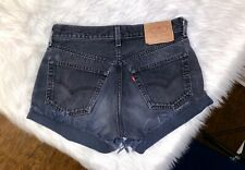 Levis high waisted shorts womens size 30 in vintage 501 XX