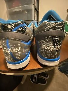 VNDS Reebok Court Victory Pump Basquiat Tin Grey/Blue Omni Rare Retro sz 10.5