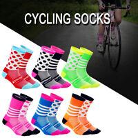 Cycling Socks Breathable MTB Mountain Road Bike Bicycle Moisture Wicking Socks