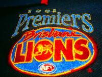 2001 Brisbane Lions AFL GRAND FINAL PREMIERS CHAMPIONS POLO Shirt MEN XL RARE