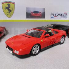 Ferrari 348 TS F119 V8 Sports Red 1:18 Scale Die-Cast Model Car