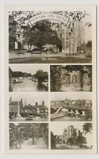 Nottinghamshire postcard - Newark on Trent (Multiview) - (A10)