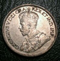 OLD CANADIAN COINS 1917 C NEWFOUNDLAND CANADA TEN CENTS