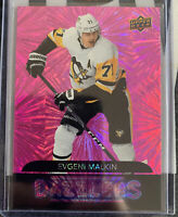 EVGENI MALKIN 2020-21 Upper Deck Series 1 Dazzlers Pink Parallel 1:144 Penguins