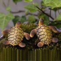 Mini Sea Turtle Resin Figurines Miniatures Fish Tank Accessories DIY Landscape!