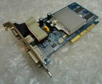128MB Nvidia GeForce FX5200 SH5200TB-128D-CB85 AGP VGA DVI Graphics Card / GPU