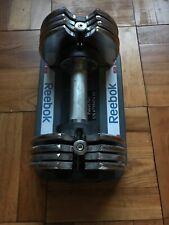 One (1) Single Reebok Speedpac Adjustable Dumbbell 25 lbs ⚡️FAST SHIP⚡️Proform