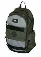 Vans Planned Pack 3 Grey Olive Laptop School Skate Backpack VN0A46NBT8Q
