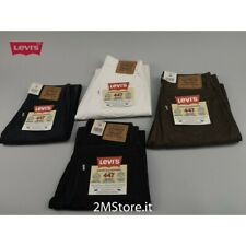 LEVI'S jeans LEVIS 447 donna regular fit vita alta in 4 colori VINTAGE nuovi