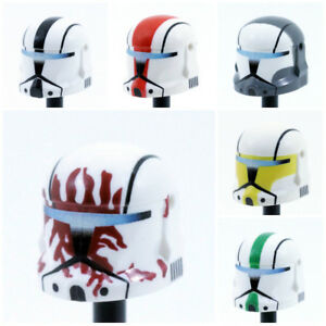 Custom CLONE COMMANDO HELMET for Clone Star Wars Minifigures -Pick the Style!-