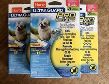 Hartz Flea Tick Drops Dogs 15 to 30 lbs Ultra Guard Pro 9 Treatments / 9 Months