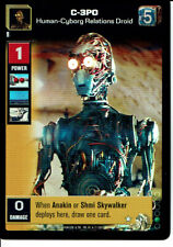 STAR WARS YOUNG JEDI REFLECTIONS SUPER RARE C-3PO, HUMAN-CYBORG RELATIONS DROID