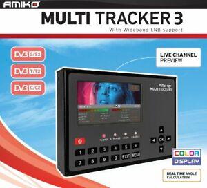 Misuratore di Campo Combo Amiko Multi Tracker 3 Analizzatore Sprettro a Colori