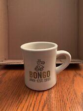 Pottery Barn Bongo EST 1993 Coffee Tea Mug Cup Nashville Unused Condition